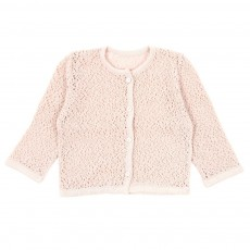 Gilet maille ajour&eacute;e B&eacute;b&eacute;