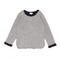 Pull bicolore