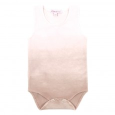 Body Tie &amp; Dye B&eacute;b&eacute; - Vieux rose
