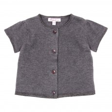 Cardigan Charlotte B&eacute;b&eacute; - Gris