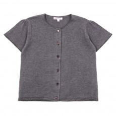 Cardigan Charlotte Enfant - Gris