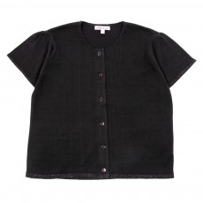 Cardigan Charlotte Enfant - Noir
