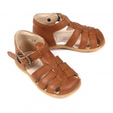 Sandales Suede B&eacute;b&eacute; - Caramel