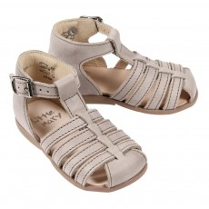 Sandales cuir Jules B&eacute;b&eacute; - Beige