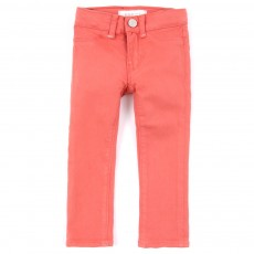 Jean Skinny B&eacute;b&eacute; - Corail