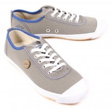 Tennis Lacets - Gris