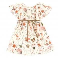 Robe Liberty manches papillons B&eacute;b&eacute;