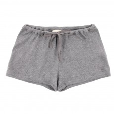 Short Jersey - Gris chiné