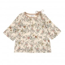 Blouse Calypso &agrave; fleurs