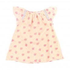 Robe Solange lurex B&eacute;b&eacute; - Rose p&ecirc;che