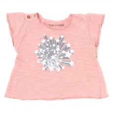 T-shirt Papillon Bébé - Rose