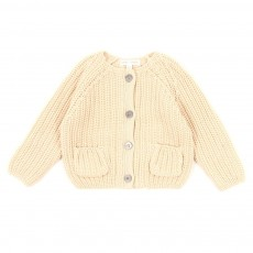Cardigan Jules B&eacute;b&eacute; - Vanille