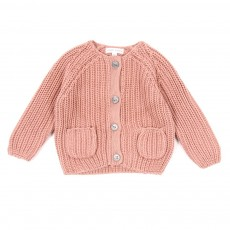 Cardigan Jules B&eacute;b&eacute; - Rose