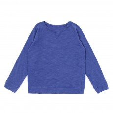 T-shirt sweat - Bleu