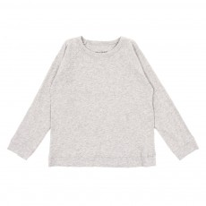 T-shirt sweat - Gris chiné