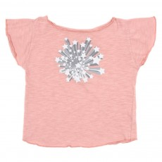 T-shirt Papillon - Rose