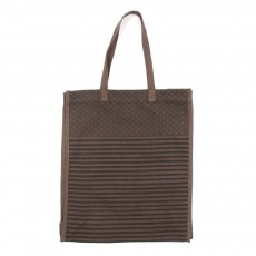Sac en canvas imprimé USA - Gris anthracite