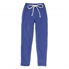 Pantalon L&eacute;o jersey - Bleu