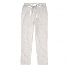 Pantalon L&eacute;o jersey - Gris