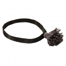 Headband Pompom - Gris