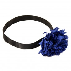 Headband Pompom Mukech - Bleu