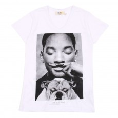 T-shirt Little Smith - Blanc