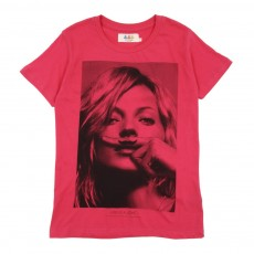 T-shirt Little KM - Rose
