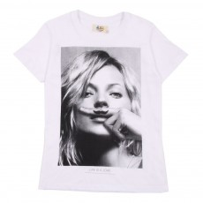 T-shirt Little KM - Blanc