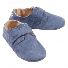Chaussons Scratchy DIY - Bleu