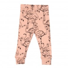 Leggings Flamingo Bébé - Rose