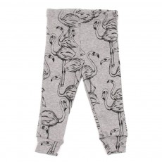 Leggings Flamingo Bébé - Gris clair