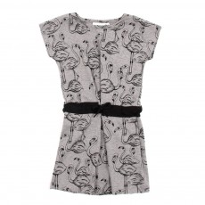Robe Flamingo - Gris clair
