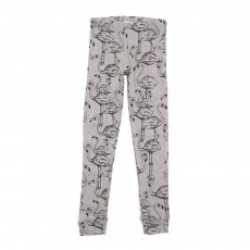 Leggings Flamingo - Gris clair