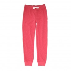 Jogger French Terry - Rouge cerise