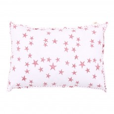 Coussin Etoiles - rose