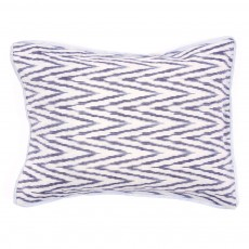 Coussin - imprim&eacute; ikat