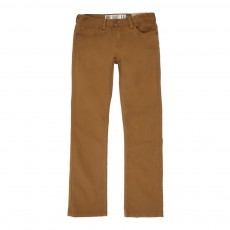 Pantalon Slim - Camel