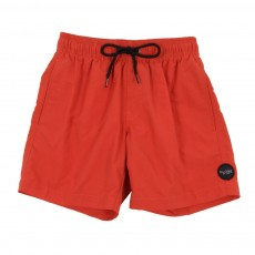Short de bain - Rouge
