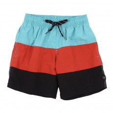 Short de bain tricolore