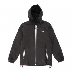 Blouson zipp&eacute; &agrave; capuche