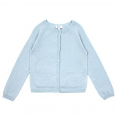Cardigan Lurex - Vert d eau