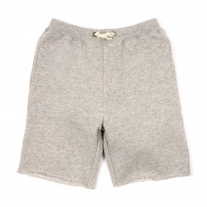 Short molleton Axil-Gris chiné