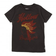 T-shirt Hollow Breakers-Gris ardoise