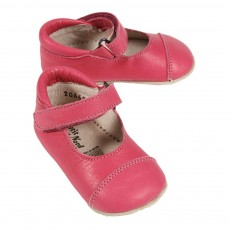 Ballerines Velcro B&eacute;b&eacute; - Rose
