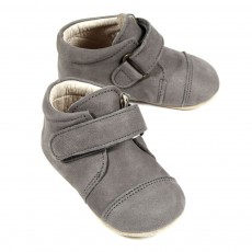 Chaussons Velcro - Gris