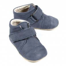 Chaussons Velcro - Bleu