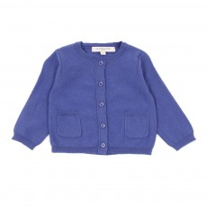 Cardigan Appledore B&eacute;b&eacute; - Bleu roi