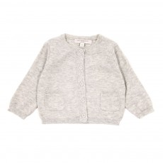 Cardigan Appledore B&eacute;b&eacute; - Gris
