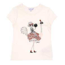 T-shirt Autruche multicolore