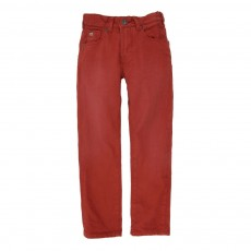 Jean Straight fit - Rouge